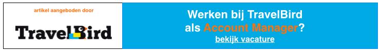 Werken bij Travelbird als Account Manager België? Bekijk de vacature: