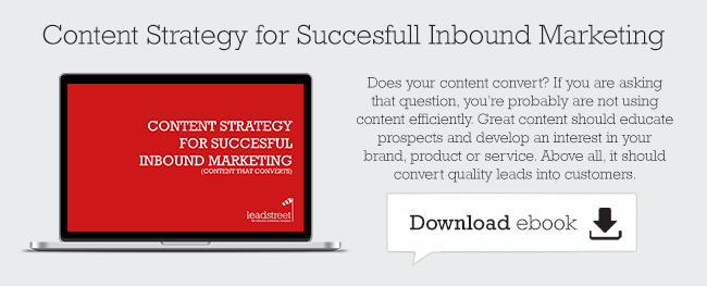 Content Strategy for Succesful Inbound Marketing