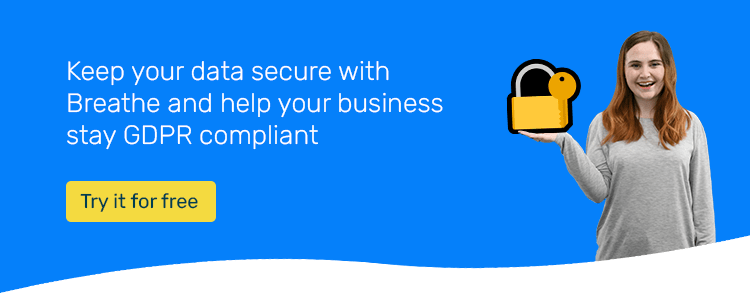 Keep your data secure with Breathe