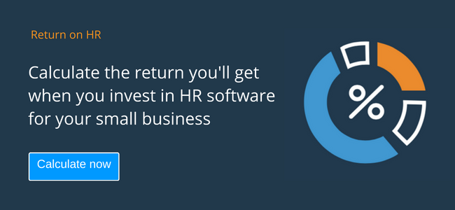 ROI HR software calculator