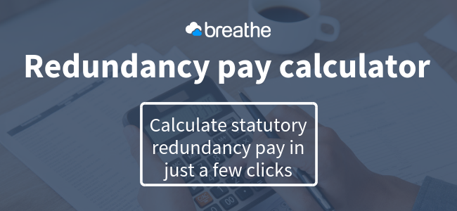 Redundancy pay calculator