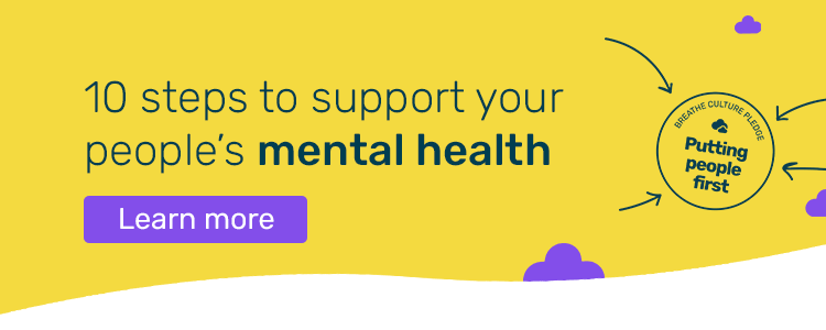 10 steps to support mental health cta