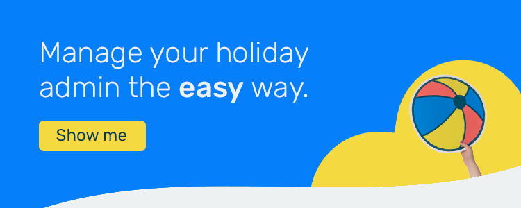 Holiday feature CTA