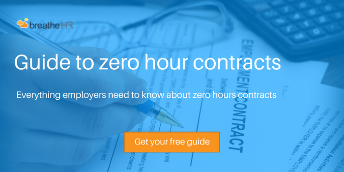 guide to zero hours contracts