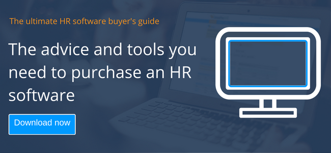 Business case for HR software