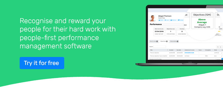 recognise and reward your people's hard work