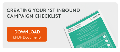 Creating your 1st inbound campaign checklist