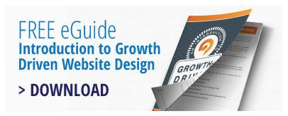 FREE eGuide - Introduction to Growth Driven Website Design