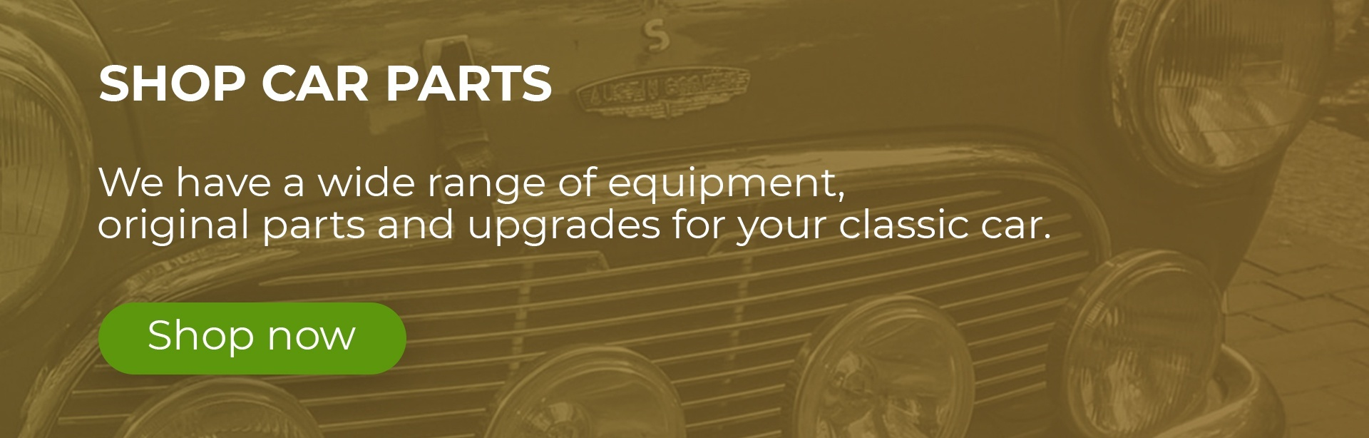 Motoring Classics Car Parts