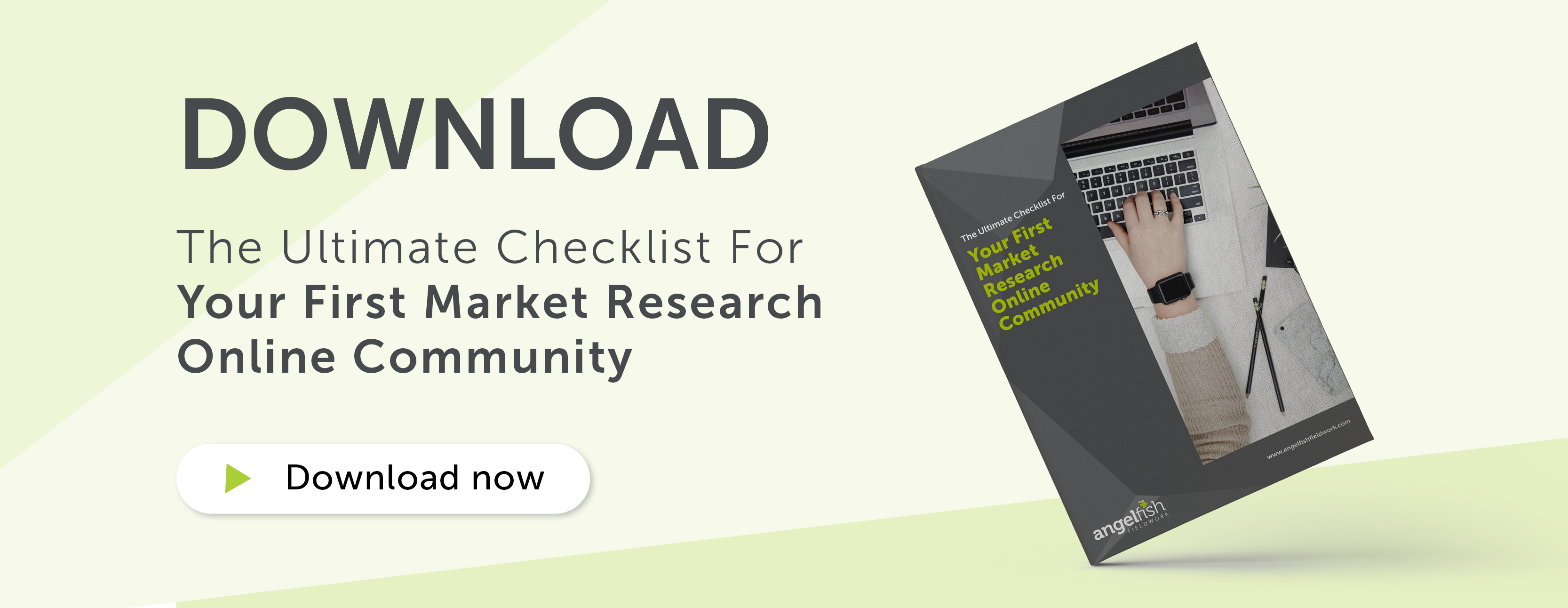 CTA Banner: The Ultimate Checklist For Your First Market Research Online Community