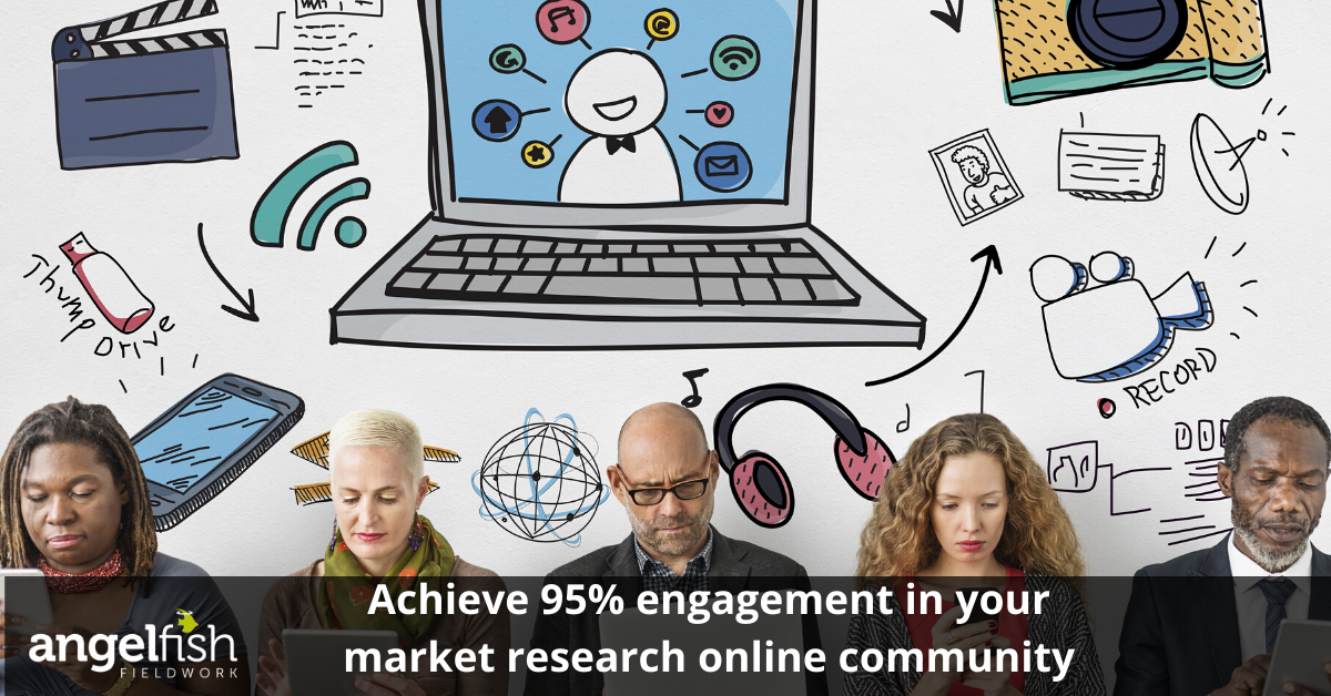 95% engagement in MROCs