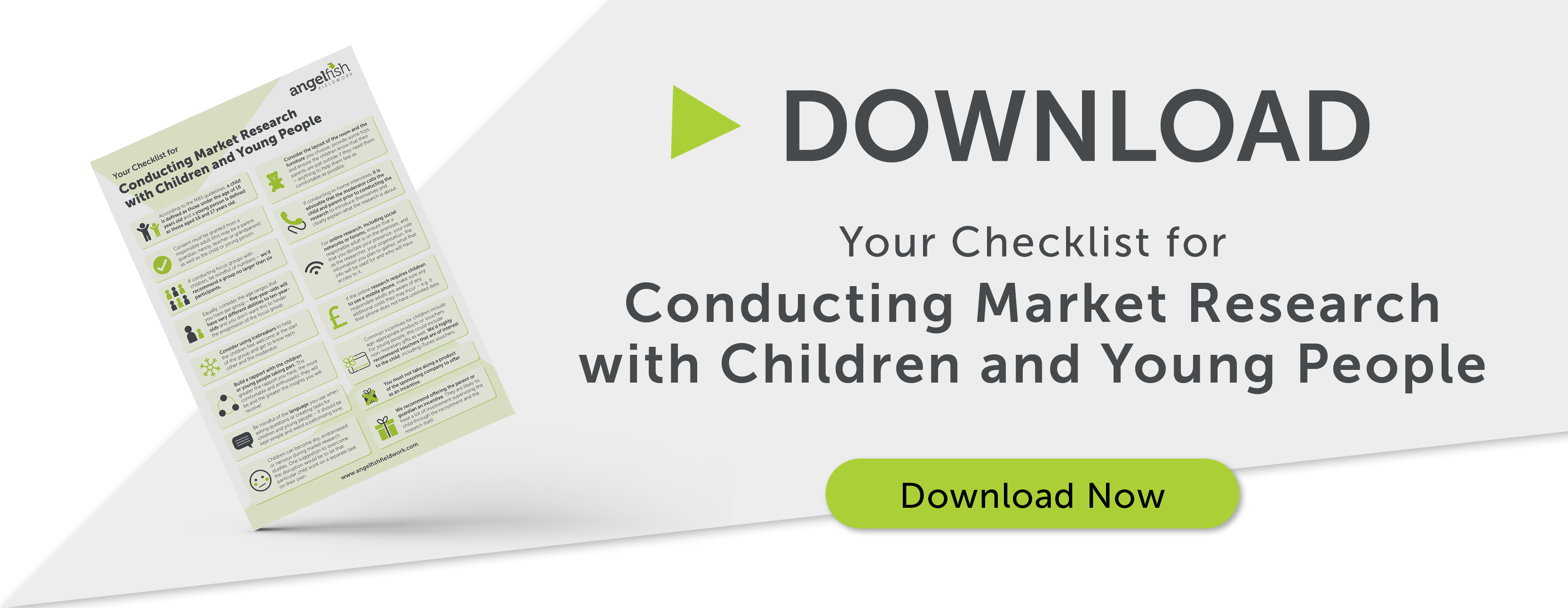 CTA banner: Your Checklist for Conducting Market Research with Children and Young People