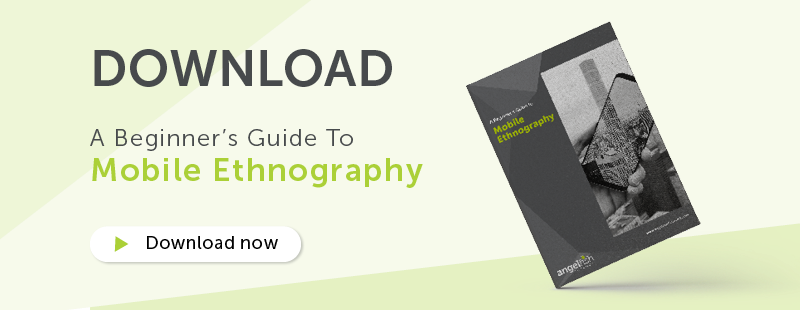 CTA Banner: A beginner's Guide to Mobile Ethnography