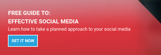 FREE GUIDE TO:  Effective Social Media  Learn how to take a planned approach to your social media Get it now