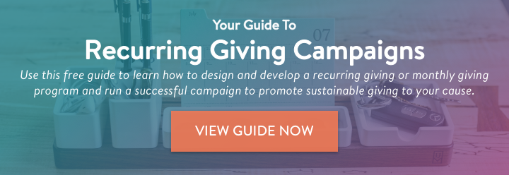 Recurring Giving Campaign Guide
