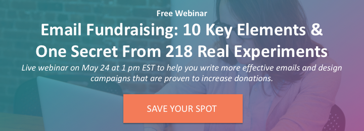 Email Fundraising Optimization Webinar