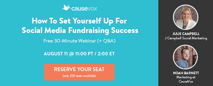 Social Media Fundraising For Nonprofits Webinar