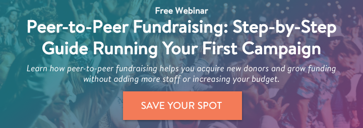 Peer-to-Peer Fundraising Webinar