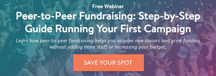 Peer-to-Peer Fundraising Webinar