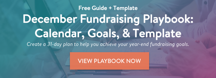 December Fundraising Playbook