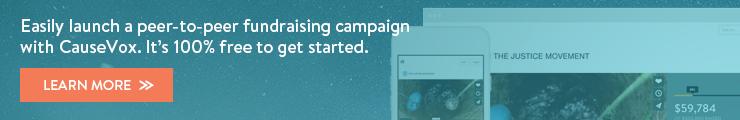 Peer-to-peer fundraising software