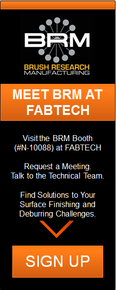 Meet BRM at FABTECH | Booth #N-10088
