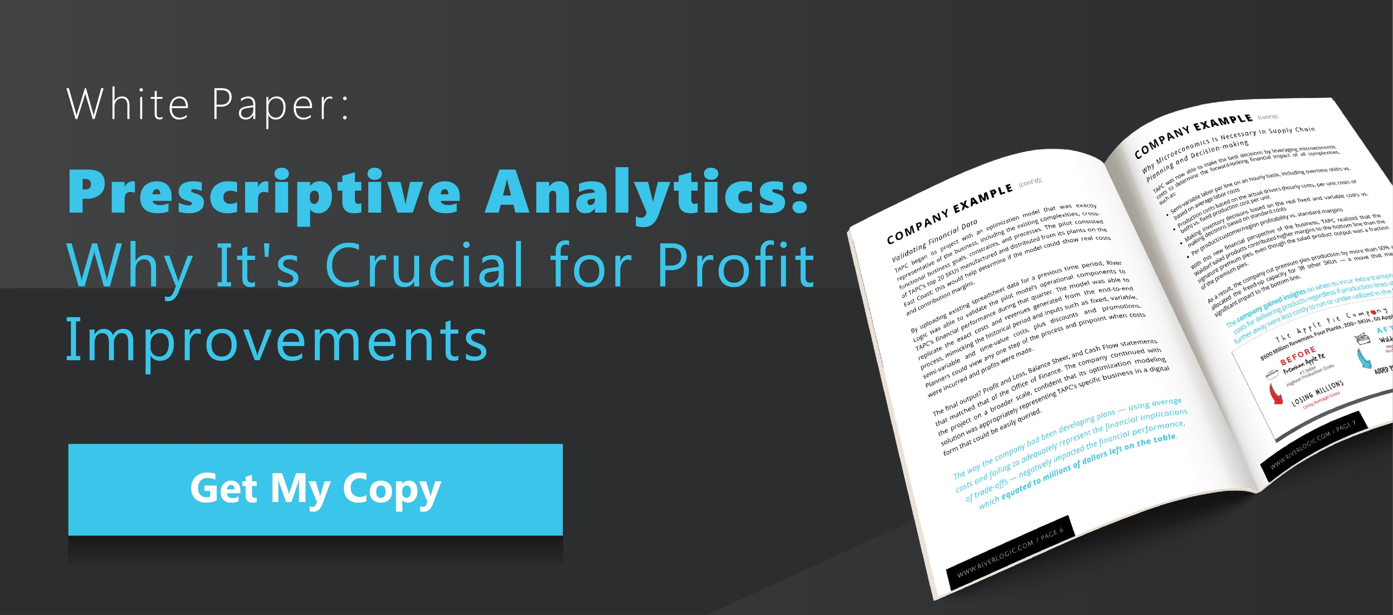 Prescriptive Analytics: Why It's Crucial for Profit Improvements - Inline