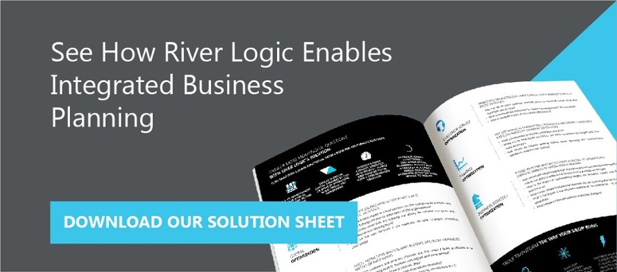 Integrated business planning solution sheet