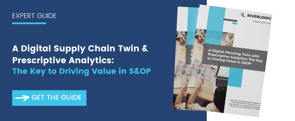 Digital Supply Chain Twin for S&OP