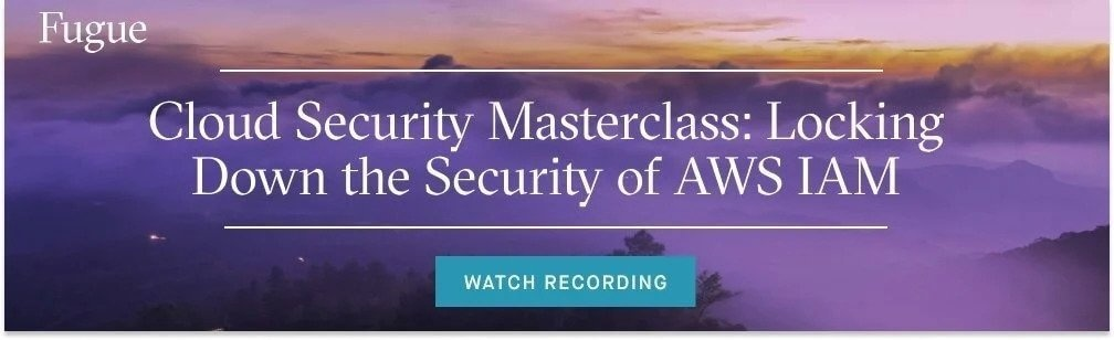 aws iam masterclass on-demand recording