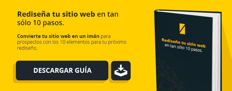 Descarga nuestra guía para rediseño web