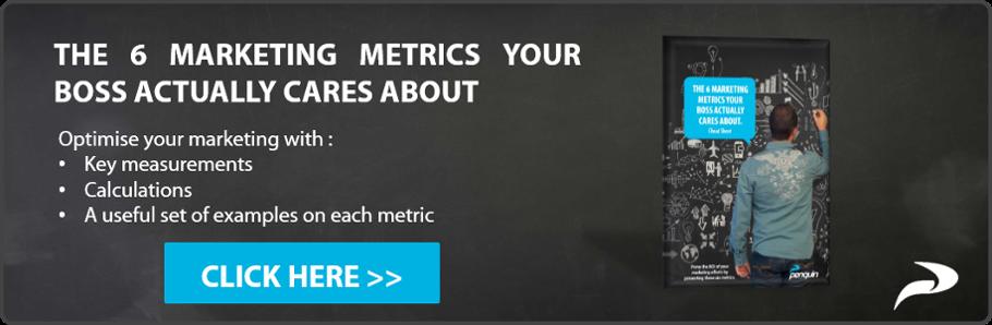 Landing Page 6 Marketing Metrics eBook Penquin