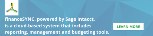 financeSYNC powered by Sage Intacct