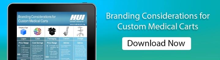 Branding Considerations for Custom Medical Carts