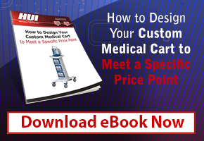 Design Your Custom Medical Cart to a Price Point