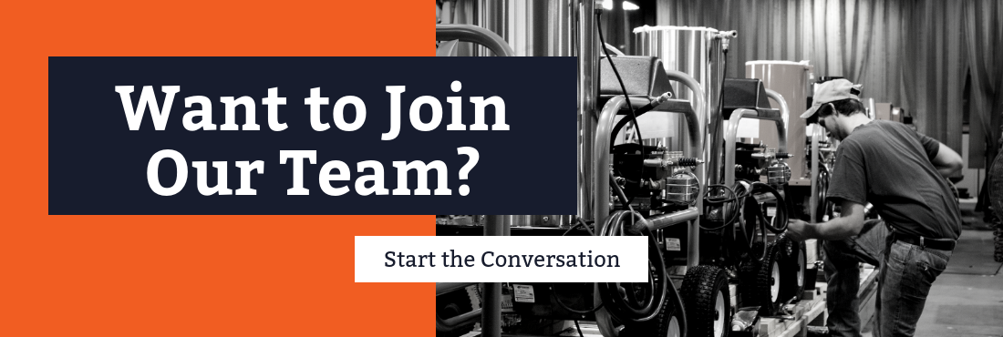 Want to join our team? Start the conversation.