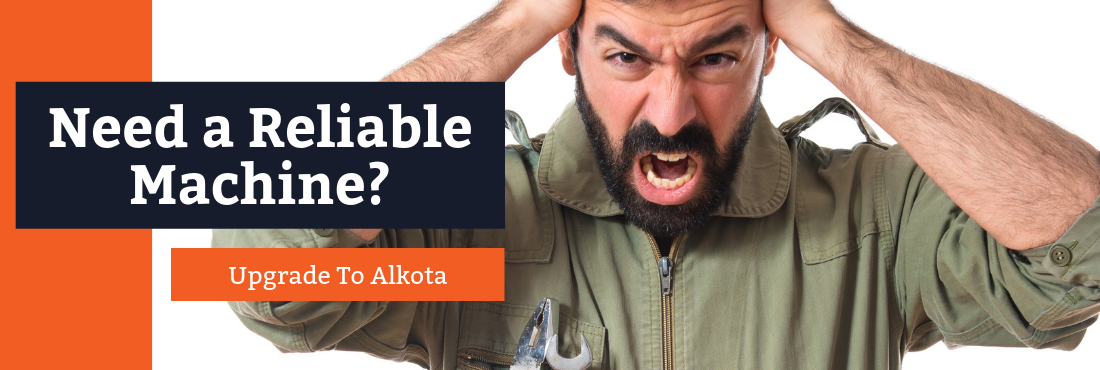 need a reliable pressure washer - Alkota cleaning systems