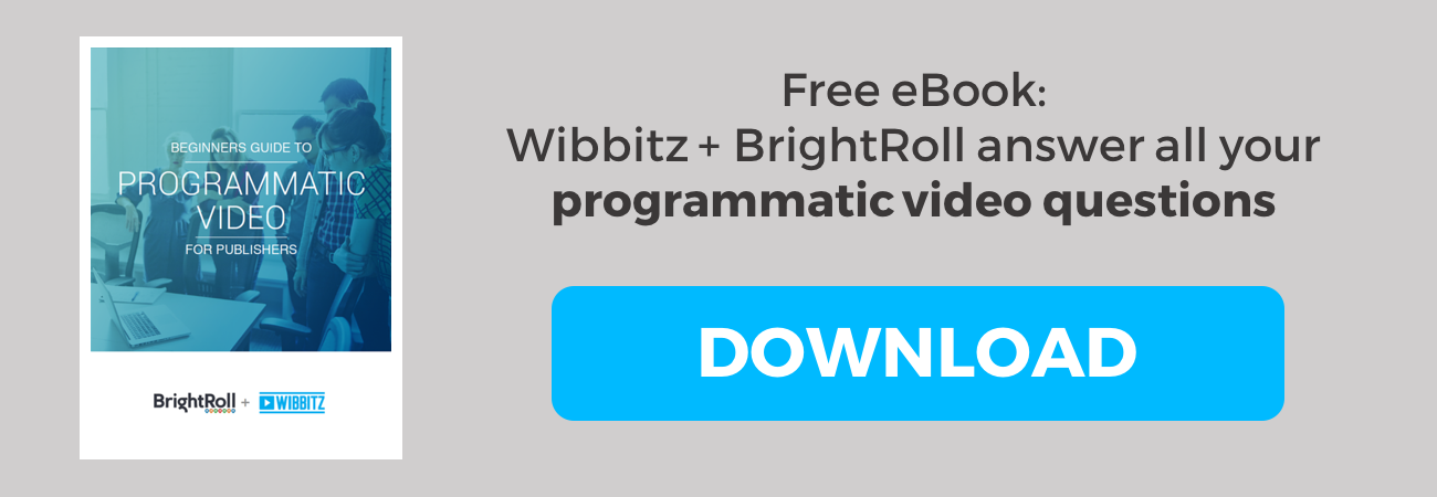 Wibbitz + BrightRoll answer all of your programmatic video questions. Download our eBook!