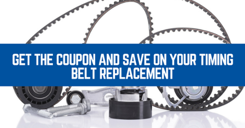 Get a free quote on your timing belt with our special offer