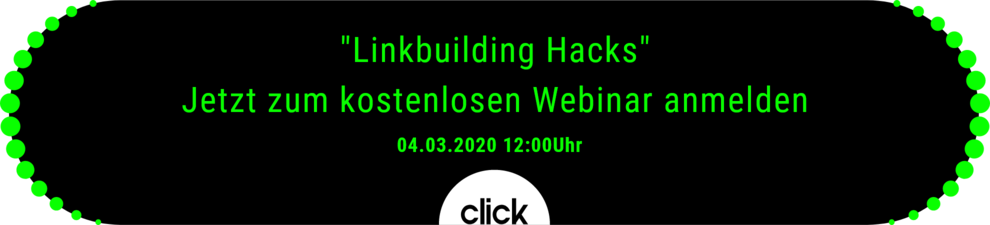 Webinar Linkbuilding Hacks