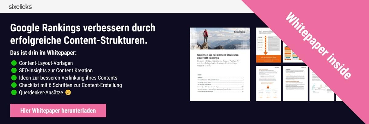 Whitepaper Download Content Strukturen SEO