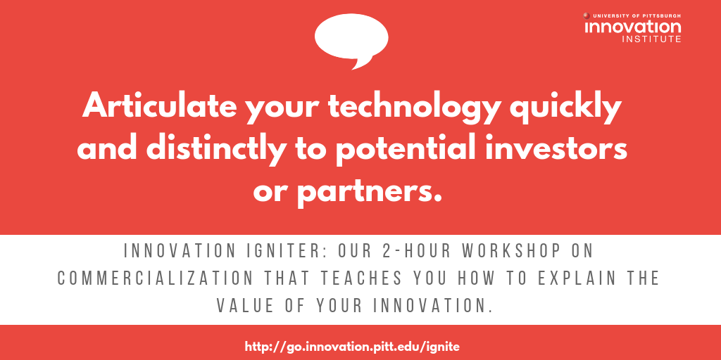 Commercialization Workshop Igniter Innovation