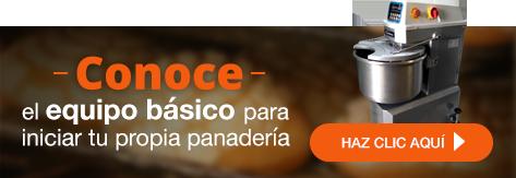 Europan - Conoce el equipo básico para iniciar tu propia panadería