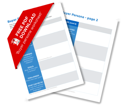 Buyer Persona worksheet download