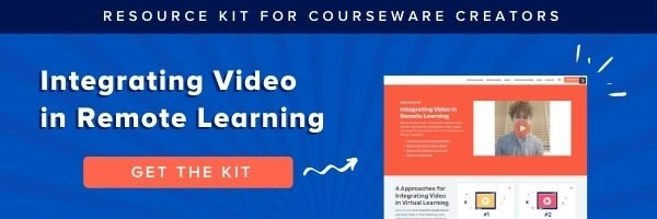 Integrating Video in Remote Learning Platforms