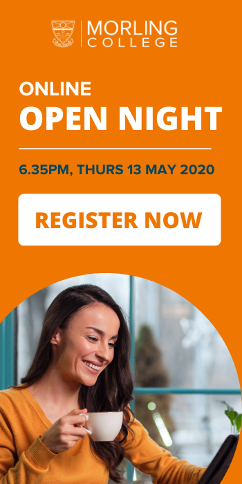 Open Night - 13 May 2020 - Register Now