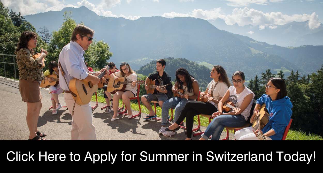 Apply Online for Summer in Switzerland!