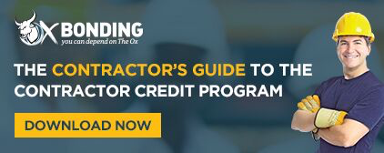 Contractor's Guide to the Contractor Credit Program