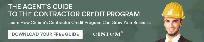 Download The Agent's Guide to the Contractor Credit Program