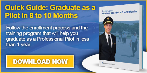 Guide Graduate as a Pilot in 8 to 10 Months